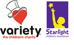 Starlight Children's Foundation of Australia and Variety Victoria - The Children's Charity Split Donation